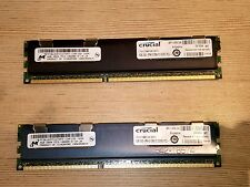 New CRUCIAL 4GB DDR3 2Rx 8PC3 10600S 1333mhz 204pin SODIMM Non-Ecc Laptop Memory