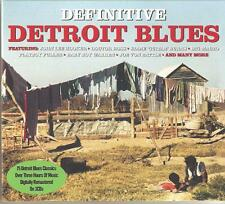 DEFINITIVE DETROIT BLUES - 3 CD BOX SET - DOCTOR ROSS, PAUL WILLIAMS & MORE