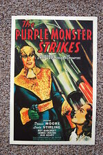 The Purple Monster Strikes Lobby Card Movie Poster