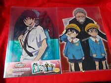 NEW! BLUE EXORCIST TWO A4 Size FILE FOLDERS & TWO A6 Stickers SET UK DESPATCH