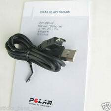 POLAR USB Charging Cable for G5 GPS ~ NEW ~ RCX5 RCX3 rs800cx cs600x charger