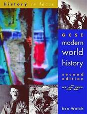 GCSE Modern World History Student's Book by Ben Walsh (Paperback, 2001)