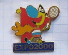 DEUTSCHLAND / HANNOVER EXPO 2000 / TWIPSY TENNIS .....Städte&Länder-Pin (108k)
