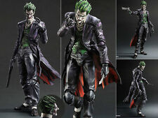 Play Arts Kai Batman Arkham Origins Joker Action Figure Figurine No Box