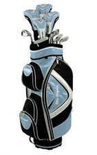 BEN SAYERS M15 LADIES L/H PACKAGE KIT COMPLETE SET GOLF CLUBS(SKY BLUE) GRAPHITE