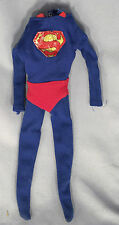 "1966 IDEAL Vintage 12"" SUPERMAN Uniform OUTFIT Suit CAPTAIN ACTION Toy RARE 60s"