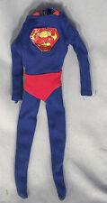 """1966 IDEAL Vintage 12"""" SUPERMAN Uniform OUTFIT Suit CAPTAIN ACTION Toy RARE 60s"""