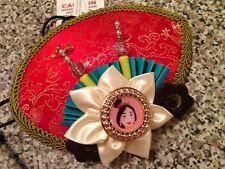 New Disney Parks Mulan Hat Costume Asian Halloween Novelty Adult Strap Cap Mini