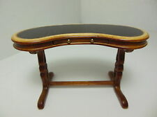 Dollhouse Miniatures Furniture 1/12: 1050wn Walnut Card Table