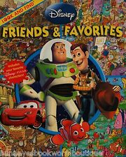 FRIENDS & FAVORITES Disney LOOK AND FIND Books NEW Paperback SEARCH Spot TOY