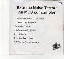 (FB158) Extreme Noise Terror, 7 tracks various artists - DJ CD