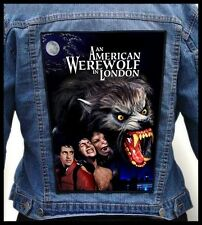 AN AMERICAN WEREWOLF IN LONDON --- Giant Backpatch Back Patch