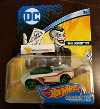 DC Comics * The Joker GT * 2017 Hot Wheels Character Cars