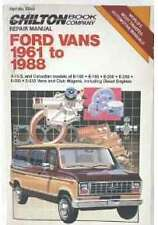 1961-1988 Ford Vans E150 E250 cortesía E350 Chiltons reparación y afina guía / manual 6849