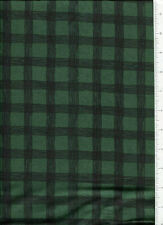 debbie mumm ~ DEEP GREEN CHECKERBOARD CHECK ~ fabric SSI squares