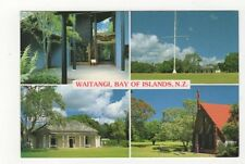 Waitangi Bay Of Islands New Zealand 1997 Postcard 363a