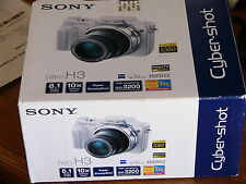 NEW Sealed Sony Cyber-shot DSC-H3 8.1 MP Digital Camera - Black