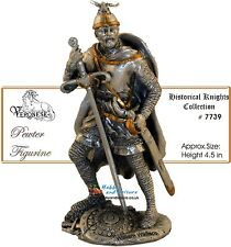 Pewter William Wallace Knight (Men at Arms) 4.25ins Veronese Ancestors # 7739