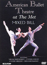 American Ballet Theatre at the Met: Mixed Bill (DVD, 2003)