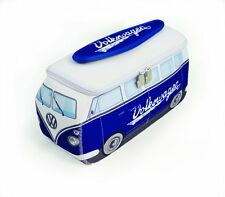 Official VW Camper Van Waterproof Neoprene Mens Toiletry Wash Bag - Blue