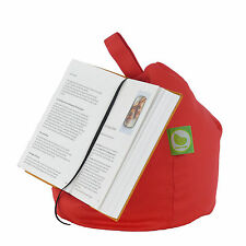 Red iPad, Book,Tablet & eReader Cushion Bean Bag Pillow Stand By Bean Lazy