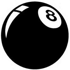 8 ball pool team car vinyl sticker fun novelty graphics decals vw window door