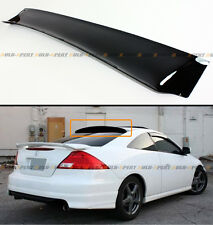 HIC 2003-2007 7TH GEN HONDA ACCORD 2 DR JDM SMOKE TINTED REAR ROOF WINDOW VISOR