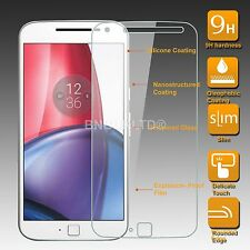 100% GENUINE Tempered Glass Screen Protector for Motorola Moto G4 Plus 2016