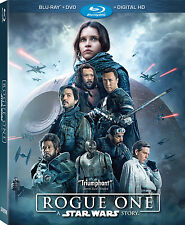 Star Wars Rogue One Story - Blu Ray & DVD 2 Disc Set + Outer Sleeve - New Sealed