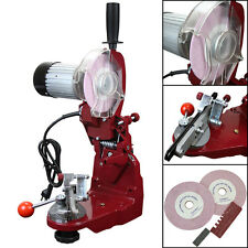 professional workBench Wall Mount electric Chain saw Grinder Sharpener  w lamp