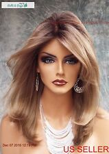 """BOBBI"" LACE FRONT MONOFILAMENT WIG BY ENVY WIGS COLOR SPARKLING CHAMPAGNE E599"
