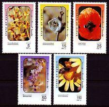 Kuwait 1995 ** Mi.1430/34 Flora Blumen Flowers