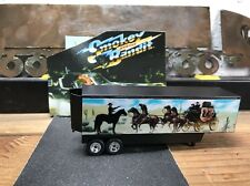 Smokey And The Bandit Custom Trailer Fits Hot Wheels Retro W/ REAL RIDERS !