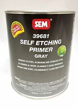 SEM Gray Self Etching Primer Gallon Paint 39681 Ready To Spray