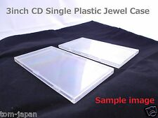 "Set of 2 CD3 3"" 3 inch 8cm CD SINGLE JAPAN Snap pack Single Plastic Jewel Case"