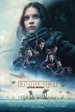 "ROGUE ONE: A STAR WARS STORY 13""x19"" D/S Original Promo Movie Poster MINT Rare"