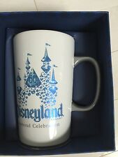 Disneyland Starbucks 60th Anniversary Diamond Mug Cup In Gift Box