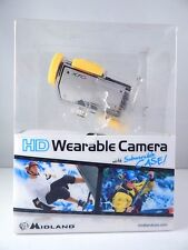 NEW!! Midland XTC260 HD Wearable Camera Submersible Camcorder - Black/Silver