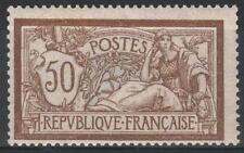 """FRANCE STAMP TIMBRE N° 120 """" TYPE MERSON 50c  BRUN ET GRIS """" NEUF xx TB  M196"""