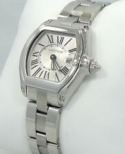 CARTIER ROADSTER LADIES WATCH STAINLESS STEEL W62016V3