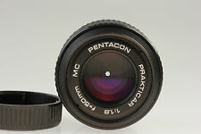 PENTACON PRAKTICAR 1,8 f=50 mm MC f. PB mount Objektiv lens