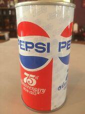 Pepsi 75th Anniversary 12oz Can