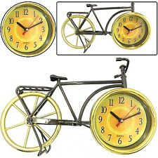 BICYCLE DESIGN DESK SIDE BED SIDE ALARM CLOCK STYLISH & BEAUTIFUL GIFT CHRISTMAS