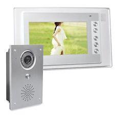 Farb Video Gegensprechanlage Türsprechanlage 7 Zoll Monitor Klingel Sprechanlage