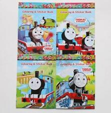 Thomas Coloring Book Party Gift Fun For Kids Sticker New (No Coloring Pen) B139