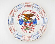 Bicentennial Commemorative Plate Souvenir 200th Anniversary Year 1776-1976