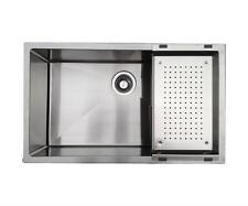 "30"" Heavy Duty Small Radius Commecial Grade Kitchen / Landry Sink-3018ASR10"