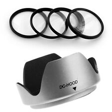 55mm Lens Hood,Macro Filter Kit for Kodak EasyShare Z740 Z710 Z650 Camera