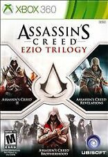 Assassin's Creed: Ezio Trilogy (Xbox 360) Brand NEW !!