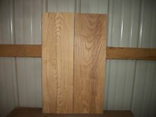 """2 PC ASH WOOD WIDE KILN DRIED 7/8"""" THICK LOT 62G CLEAR"""